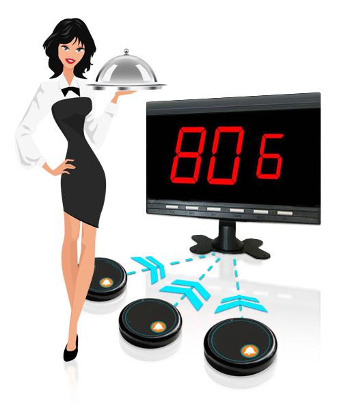 Безжична система за повикване на сервитьори